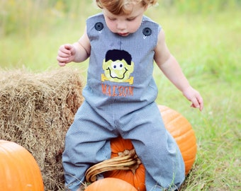 Fall Boy Romper - Baby Boy Jon Jon or Shortalls PDF Pattern Reversible Overall Pattern, Baby Toddler Children 6M - 6C Summer Boy Outfit