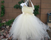 Tutu Dresses, Flower Girl Tutu Dress, Tutu Dress, Ivory Tulle, Flower Girl Dresses, Cream Lily, Ivory Portrait Dress, Wedding Flowergirl