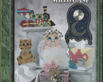The Needlecraft Shop Masterpiece Showcase in Plastic Canvas Pattern Book