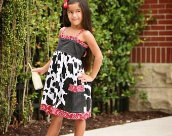 Girls Dress Pattern Sewing Pattern PDF, Baby, Girls clothing patterns. The Willow Dress sizes 6m-12