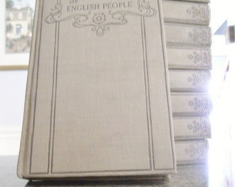 10 volumes Greens History of the English People / History