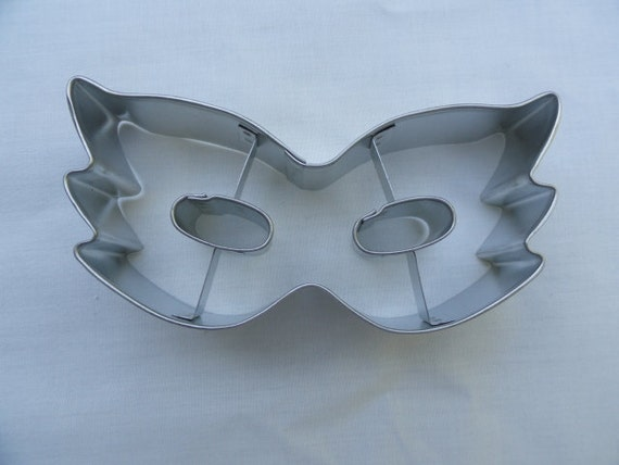 Mask Cookie Cutter by almostnecessities on Etsy