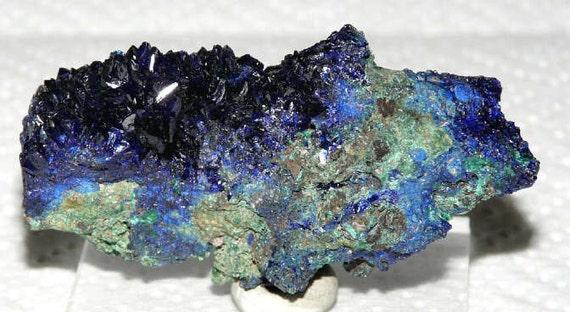 Azurite Malachite Mineral Specimen