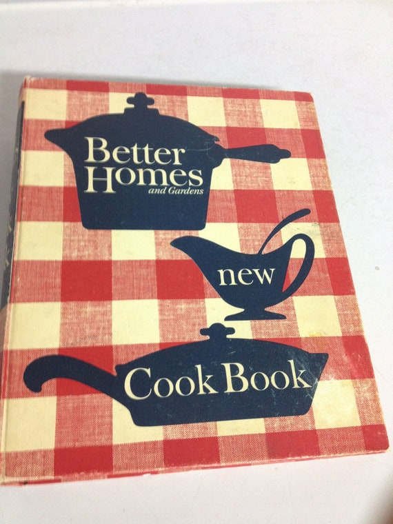 Vintage Betty Crocker New Cook Book 1965