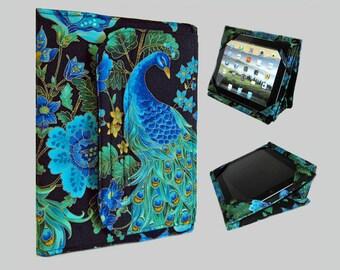 iPad Pro 9.7 Case, iPad Cover Hardcover, iPad Case, iPad Mini Cover, iPad Mini Case, iPad Air Case, iPad Air Sleeve, iPad 2, iPad 4, Peacock