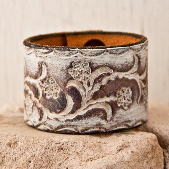 Unique Gifts Bracelet Handmade with Leather for Women Christmas Holiday December Winter Sale