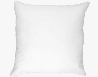 Throw Pillow Forms - Poly Fill - Polyfil  - Your choice of size