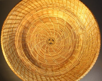 Large Pine Needle Basket, Prize Winner