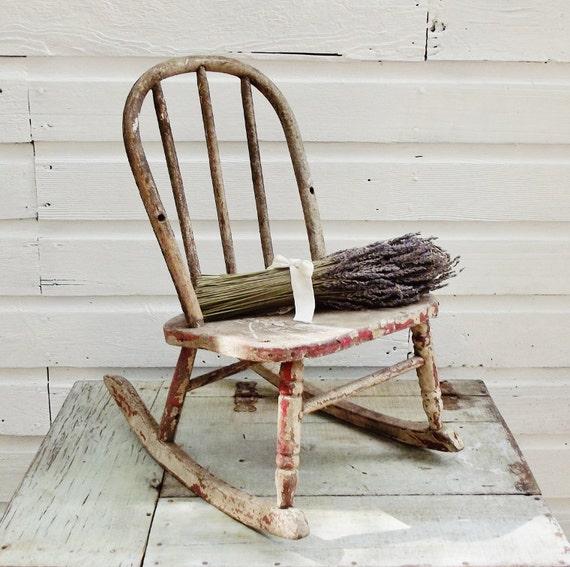 Vintage Child's Rocking Chair