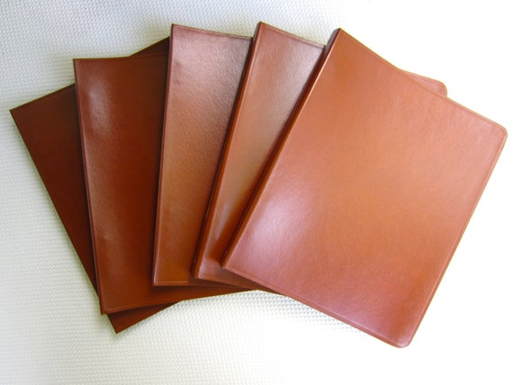 Vintage Faux Leather Notebook Binder 6 Ring Royal Vernon Line New Old Stock