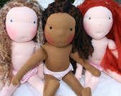 """Inviting Play Doll Pattern  Waldorf Doll PDF Pattern for 18"""" dolls that sit.  Proportions similar to American Girl.  Prior knowledge assumed"""