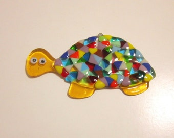 Ornament - Colorful Turtle