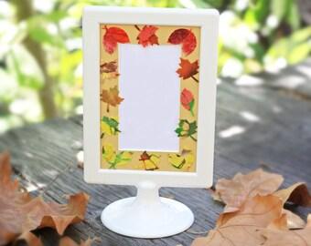 autumn leaves 4x6 frame