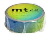 Rainbow Washi Mt ex Masking Tape NEW SUMMER 2012 Tape mt ex 15mm x 10m