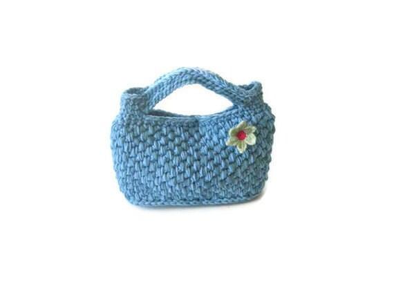 Crochet PATTERN - Basket Handbag, pdf crochet pattern, pattern for Handbag, crochet Bag, Clutch, Tutorial,