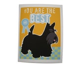 Scottie Dog Greeting Card Paper Goods Stationery You are the Best