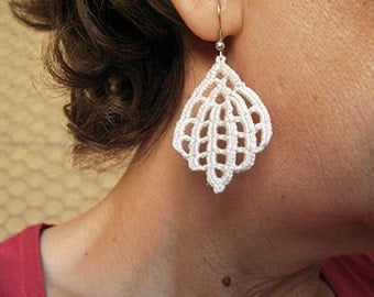 PDF Tutorial Crochet Pattern...Dangle Earrings -26