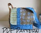 cross body messenger bag pattern