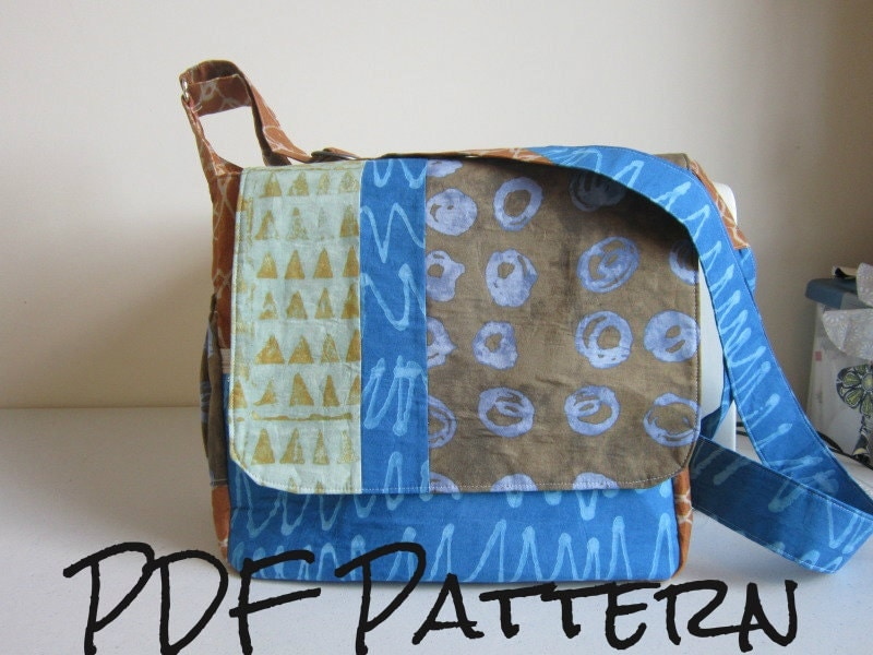 Cross Body Messenger Bag Pattern By Pannayg On Etsy