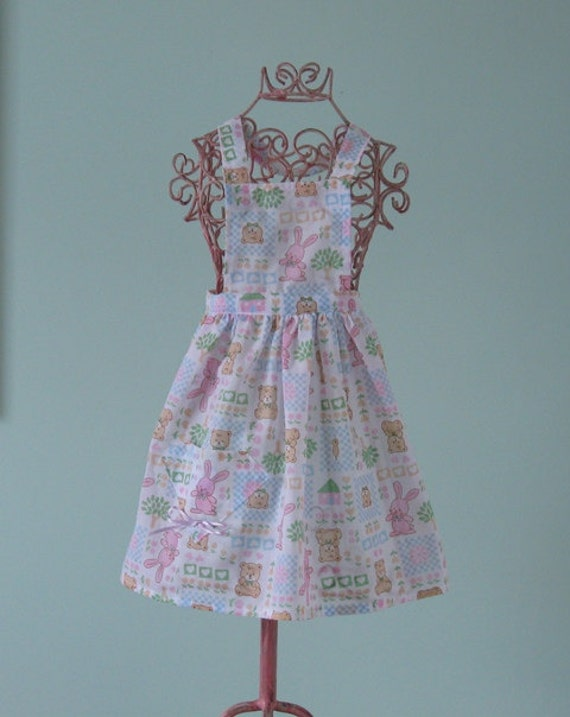 SALE PRICE Bunny Pinny (12-18 months)   reduced to 8 dollars