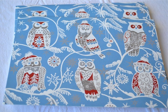 Christmas Cards - Snowy Owls - 6