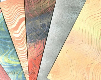 TUTORIAL - Paste papers