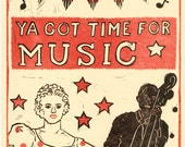 Time for Music poster
