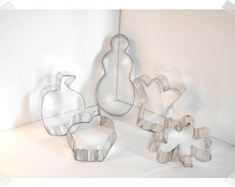 Metal Cookie Cutters/ Set of 5/ Kitchenware*