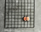Vintage 80s Black Painted Metal Grid for Display or Decoration