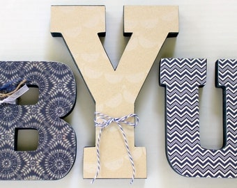 BYU Wood Letters