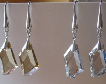 Swarovski Galaxy Assymetric Earrings