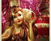 Sweet ViNtAGeY Mercury Glass Mermaid