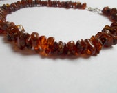 Dark Woodland Baltic Amber Teething Necklace, Reiki Charged for Boy or Girl