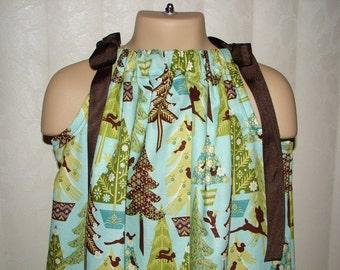 STORE CLOSING, Alpine Wonderland, Christmas Pillowcase Dress, 18 months, RTS