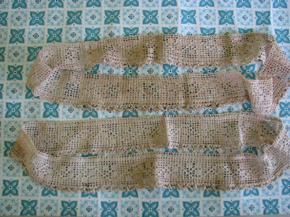 Vintage Shabby Wide Crochet Trim