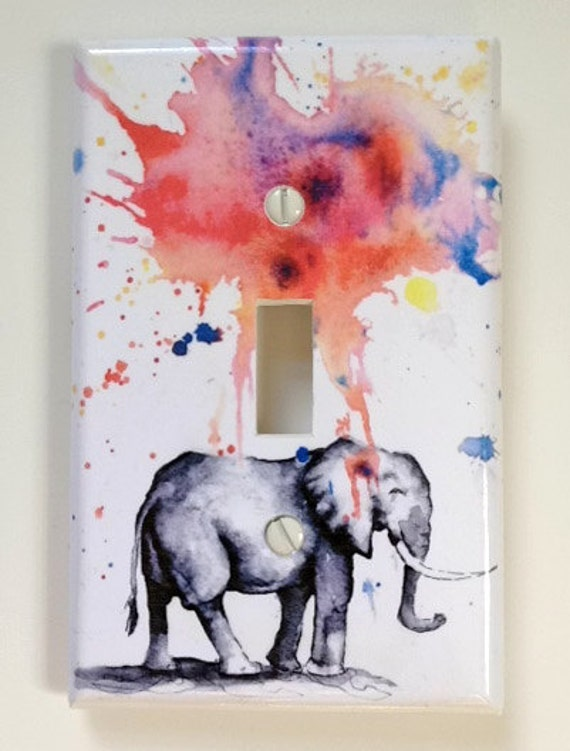 Elephant Decorative Light Switch Cover Plate Great Elephant