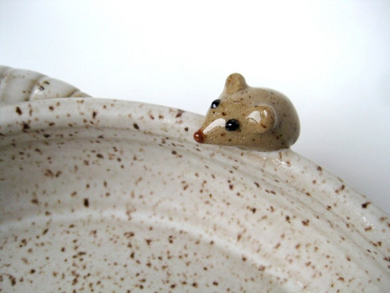 Rufus baking/serving dish in speckled oatmeal, IN STOCK