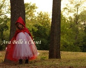 Little Red Riding Hood Tutu Costume 12m to 5T