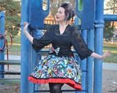 Marvel Avengers Action Lolita Skirt and Bow