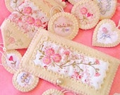 Pocketbook Charmers 1008  Hand Embroidery Pattern Crabapple Hill Studios