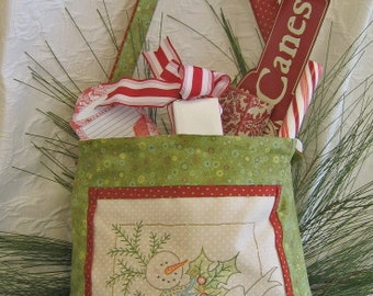 Winter Wishes 412 Hand Embroidery Pattern Crabapple Hill Studios
