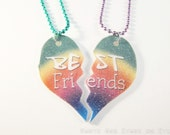 Rainbow Best Friends Charm Necklace