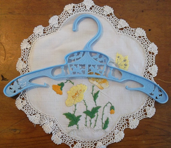 Childrens Clothes Hanger with Merry Go Round motif  1960s