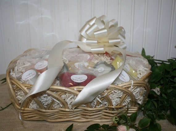 Candle Poem For Wedding Gift: Bridal Candle Gift Basket With Candle Poem For By NaturesGlow