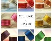 24 gauge Wire Special - YOU Pick 2 - Enameled Coated Copper