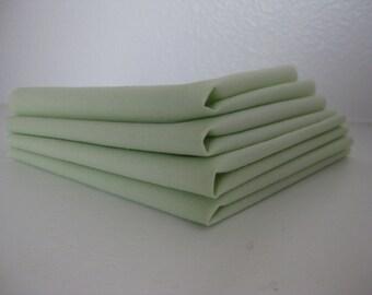 Cloth Napkins - Spring Green - 100% Cotton