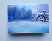 fine art print-4inx5in- blank card and envelope