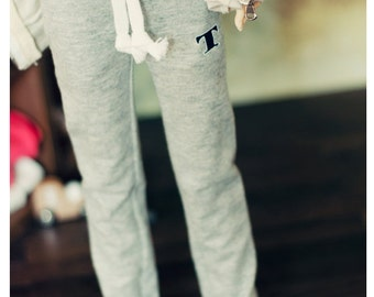 SD 13 Girl sweat pants - Gray , L.Blue