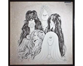 Glittered Aerosmith Album (Hirshfield)