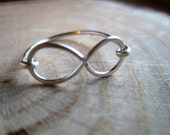 Infinity Ring - Silver Plated